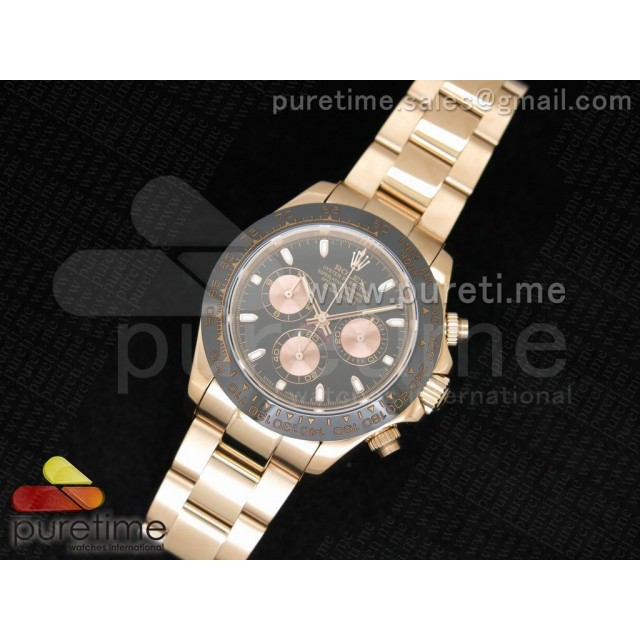 Replica Rose Gold Rolex Daytona 116515 Watch