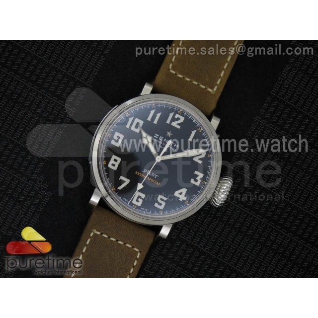 Pilot Type 20 Extra Special SS 45mm V6F 1:1 Best Edition on Brown Asso Strap A2824