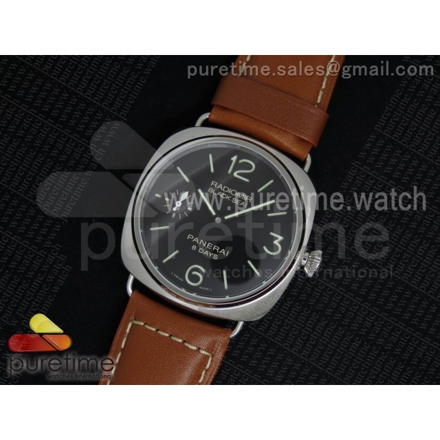 PAM609 R Radiomir V6F 1:1 Best Edition on Brown Leather Strap P5000