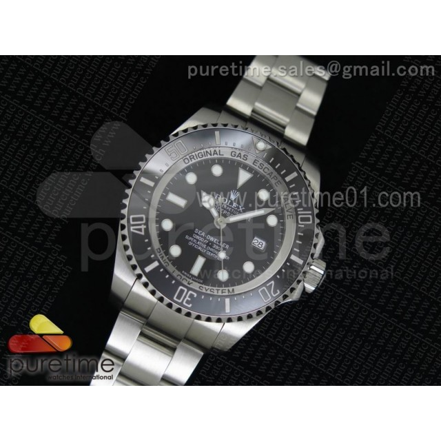 Sea-Dweller DEEPSEA 116660 Black Ceramic V7 1:1 Noob Best Edition SA3135