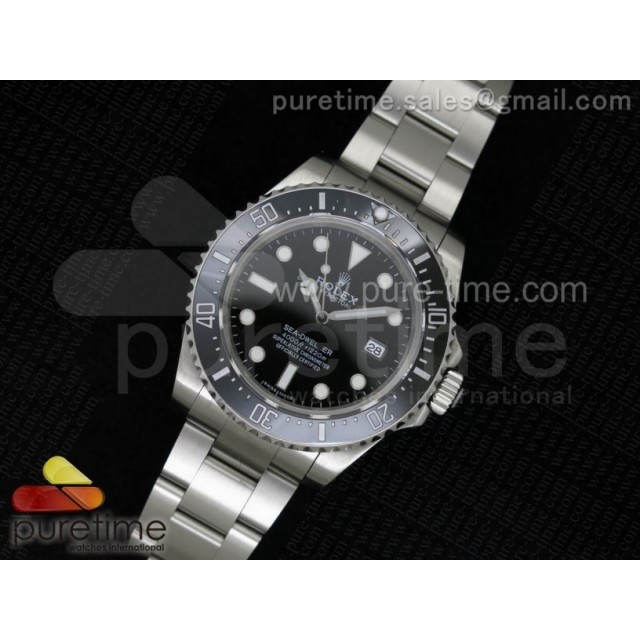 Sea-Dweller 116600 Black Ceramic 1:1 Noob Best Edition SA3135 V2