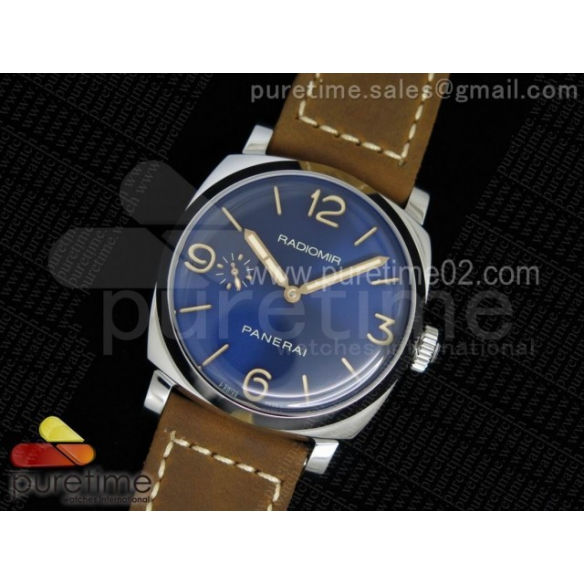 PAM690 S V6F Best Edition Blue Dial on Brown Asso Strap P3000