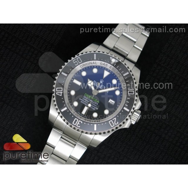 "Sea-Dweller DEEPSEA 116660 ""D-BLUE"" 1:1 Noob Best Edition A2836 V2"
