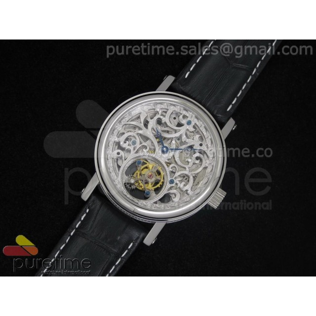 Cheap Discount Replica Classique Skeleton Tourbillon Stainless Steel