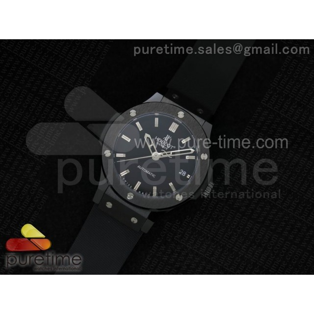 Cheap Discount Replica Big Bang 38mm 1:1 Ceramic Black Dial on Black Rubber Strap MIYOTA9015