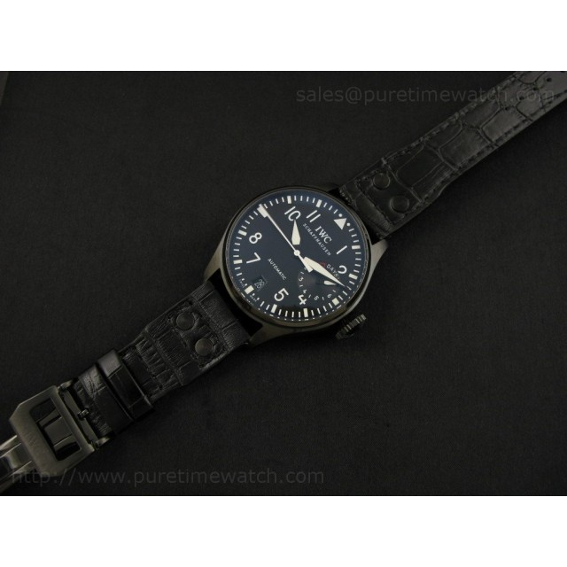 Cheap Discount Replica Big Pilot 1st Edition PVD Black (Updated Hands)