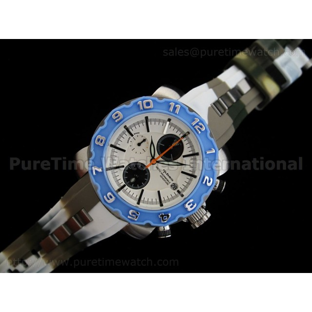 Cheap Discount Replica Arctic Chrono Rubber Collection Blue Camouflage