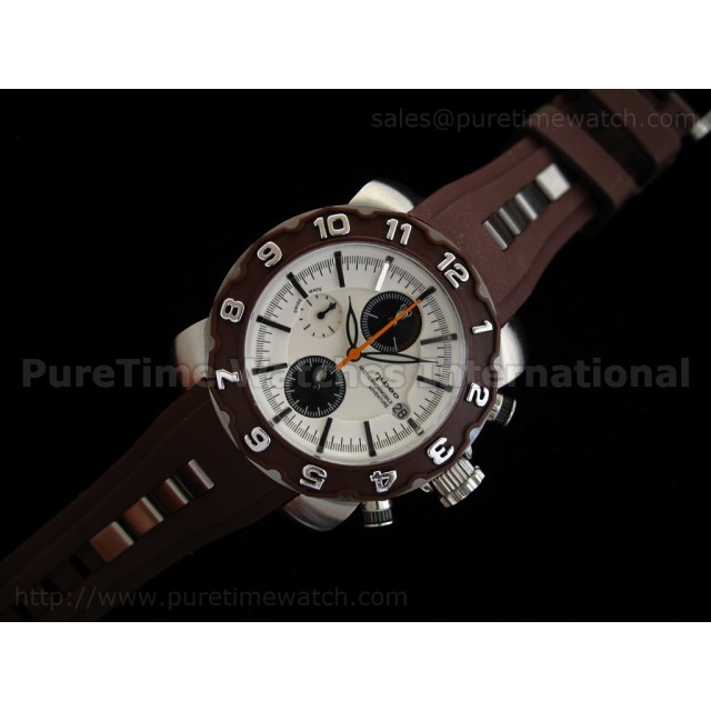 Cheap Discount Replica Arctic Chrono Rubber Collection Brown