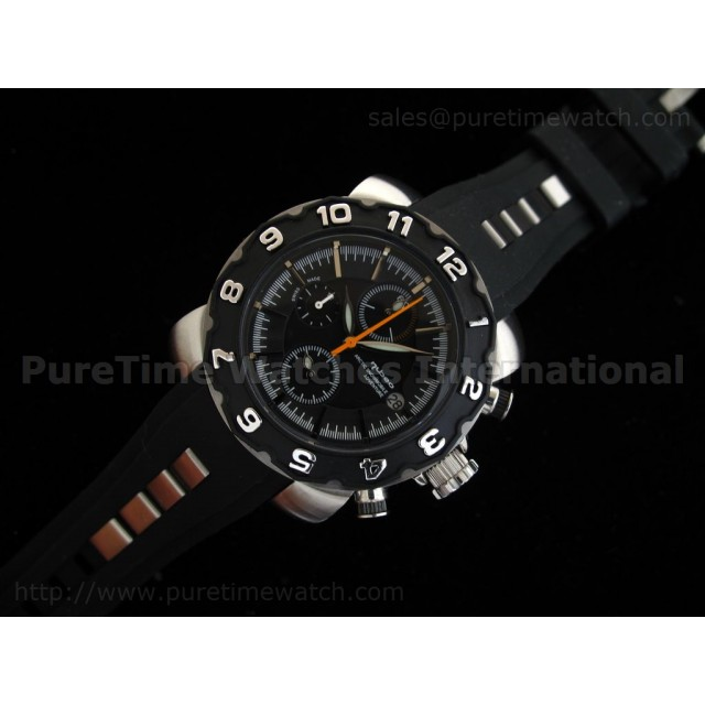 Cheap Discount Replica Arctic Chrono Rubber Collection Black