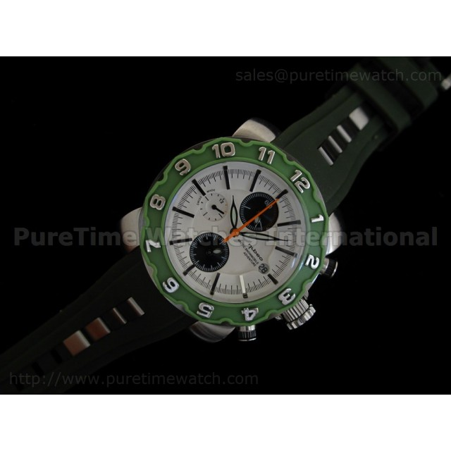 Cheap Discount Replica Arctic Chrono Rubber Collection Dark Green