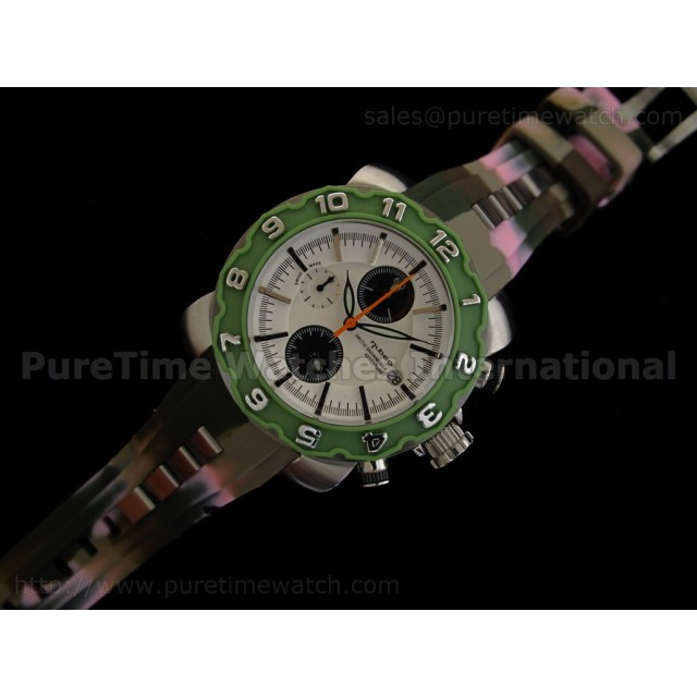 Cheap Discount Replica Arctic Chrono Rubber Collection Green Camouflage