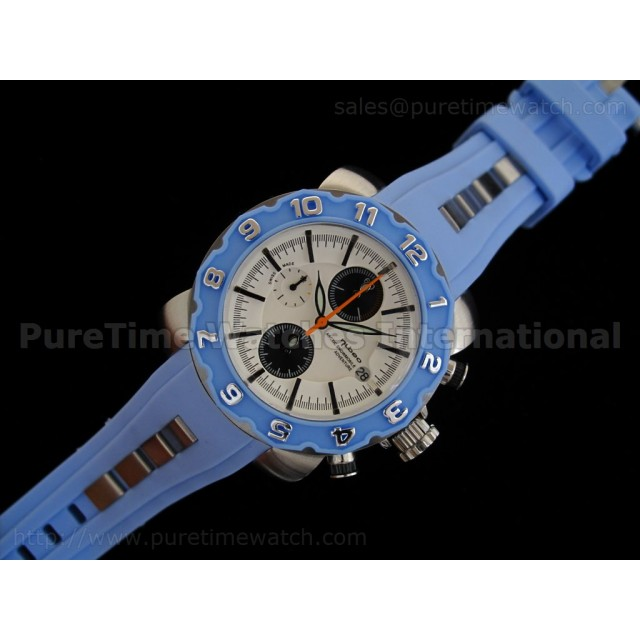 Cheap Discount Replica Arctic Chrono Rubber Collection Blue
