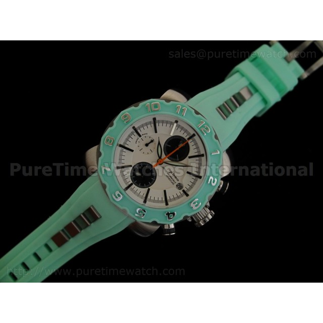 Cheap Discount Replica Arctic Chrono Rubber Collection Light Green
