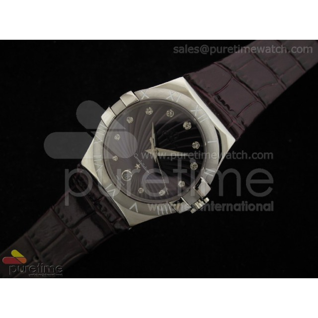 Cheap Discount Replica Constellation Quartz 35mm Purple