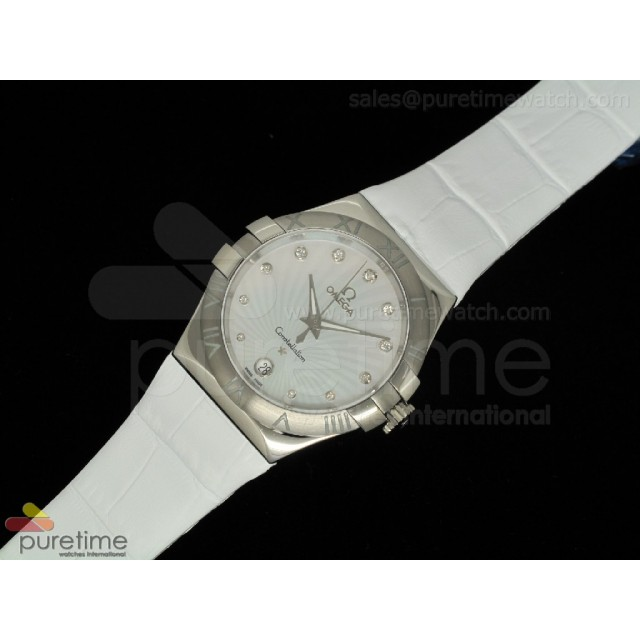 Cheap Discount Replica Constellation Quartz 35mm White V2
