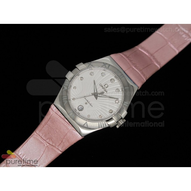 Cheap Discount Replica Constellation Quartz 35mm Pink V2