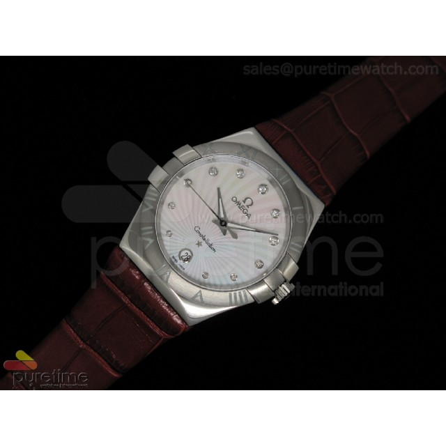 Cheap Discount Replica Constellation Quartz 35mm Red V2