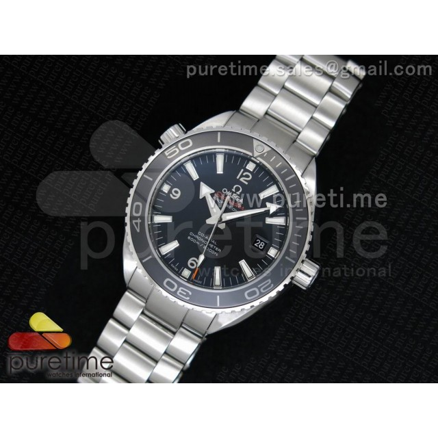 Cheap Discount Replica Planet Ocean Professional Ceramic Bezel 45mm 1:1 Noob Best Edition on SS Bracelet A2836