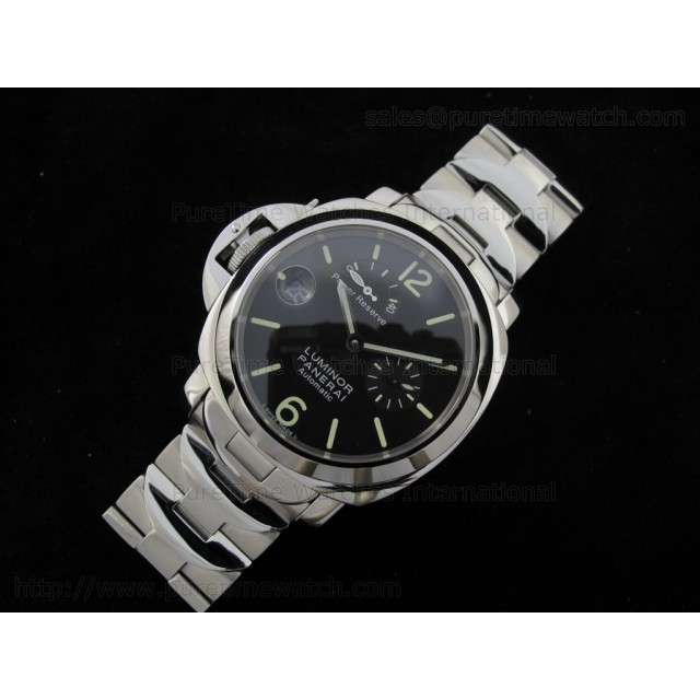 Cheap Discount Replica PAM123 Power Reserve Lefty on Bracelet