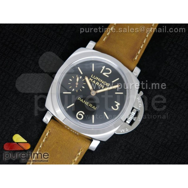 Cheap Discount Replica PAM422 O on Brown Asso Leather Strap P.3000
