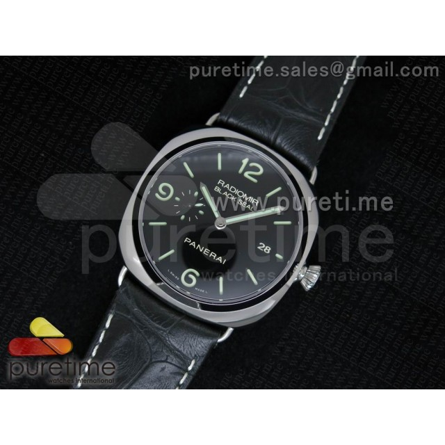 Cheap Discount Replica PAM388 O ZF 1:1 Best Edition on Black Leather Strap P9000