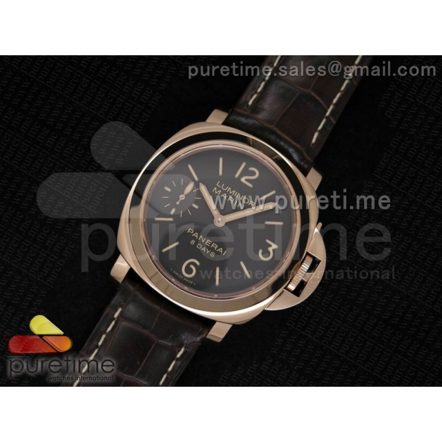 Cheap Discount Replica PAM511 P on Brown Leather Strap P5000