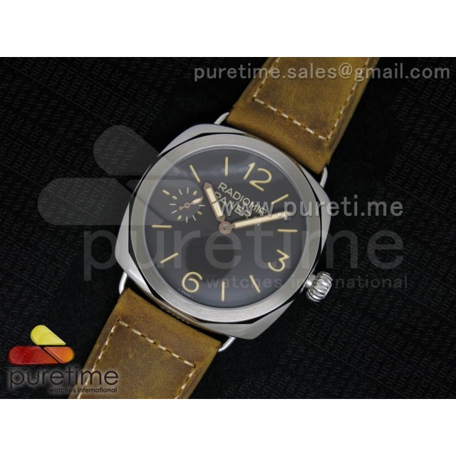 Cheap Discount Replica Radiomir Platino PAM521 P on Brown Asso Strap P.3000