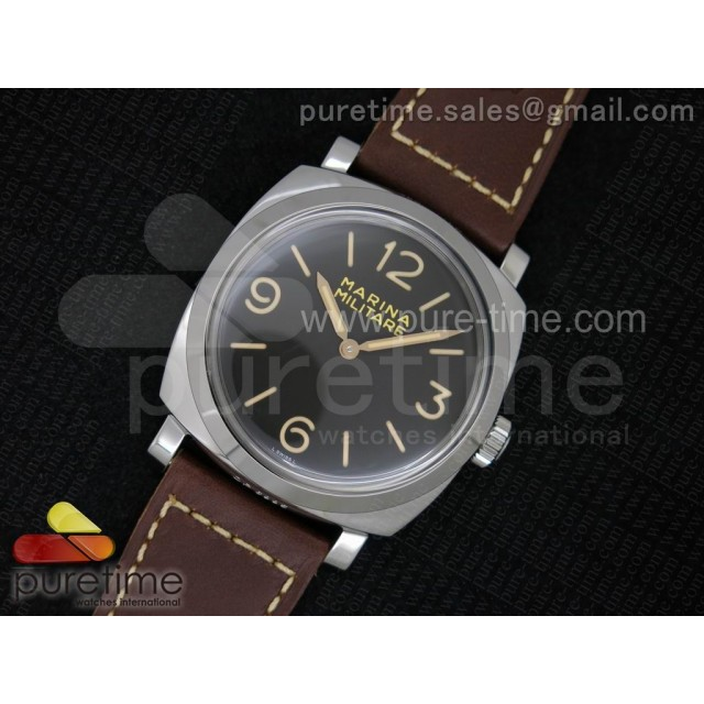 Cheap Discount Replica PAM587 Q SF Best Edition on Thick Brown Leather Strap P.3000 Super Clone