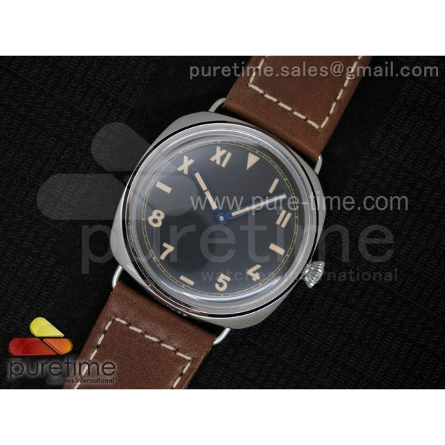 Cheap Discount Replica PAM448 O ZF 1:1 Best Edition on Thick Brown Leather Strap P.3000 Super Clone