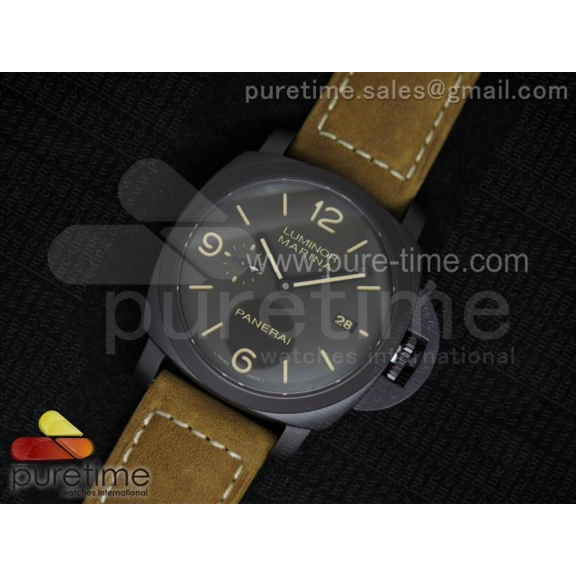 Cheap Discount Replica PAM386 M V6F 1:1 Best Edition on Brown Asso Strap P9000