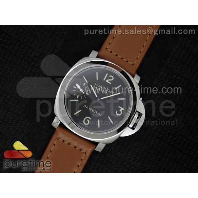 Cheap Discount Replica PAM111 N V6F Best Edition on Brown Leather Strap A6497