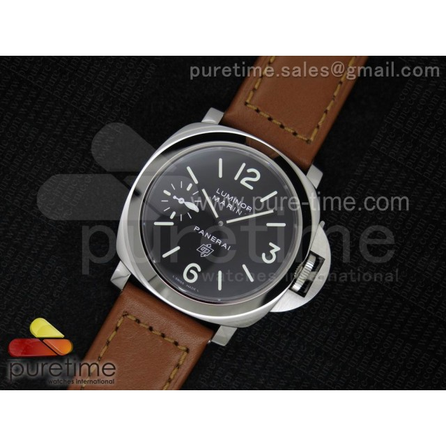 Cheap Discount Replica PAM005 N V6F Best Edition on Brown Leather Strap A6497