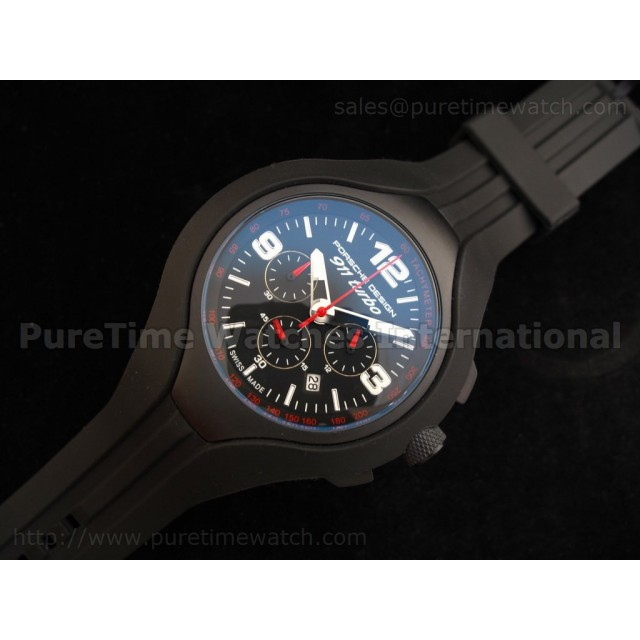 Cheap Discount Replica 911 Turbo Speed II Chronograph Titanium Black