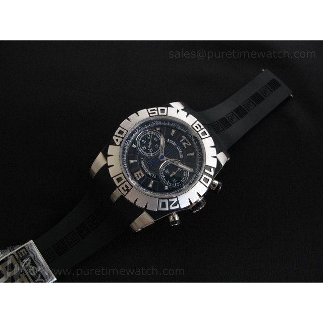 Cheap Discount Replica Chronoexcel SS Black Dial-1