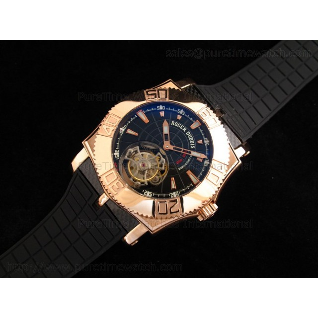 Cheap Discount Replica EasyDiver Tourbillon RG Black