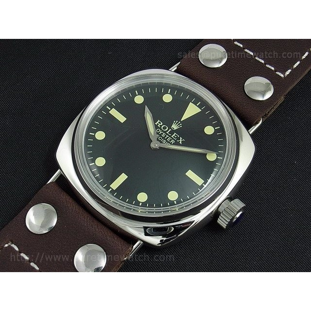 Cheap Discount Replica Oyster Precision Military Vintage Ref.6154