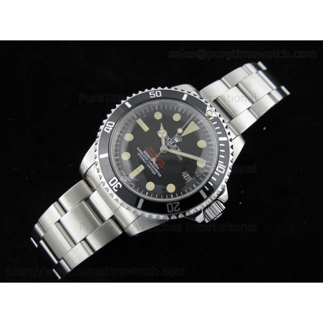 Cheap Discount Replica Vintage Double Red Sea-Dweller 1665 Dial 2