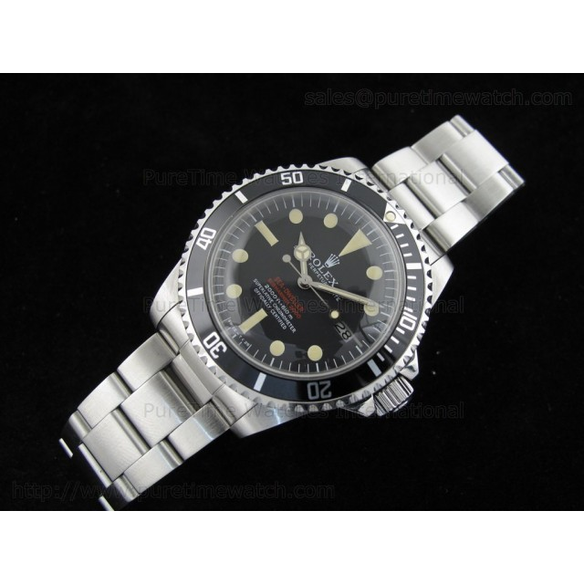 Cheap Discount Replica Vintage Double Red Sea-Dweller 1665 Dial 4