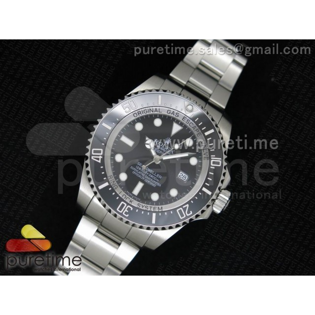 Cheap Discount Replica Sea-Dweller DEEPSEA 116660 Black Ceramic 1:1 Noob Best Edition A3135