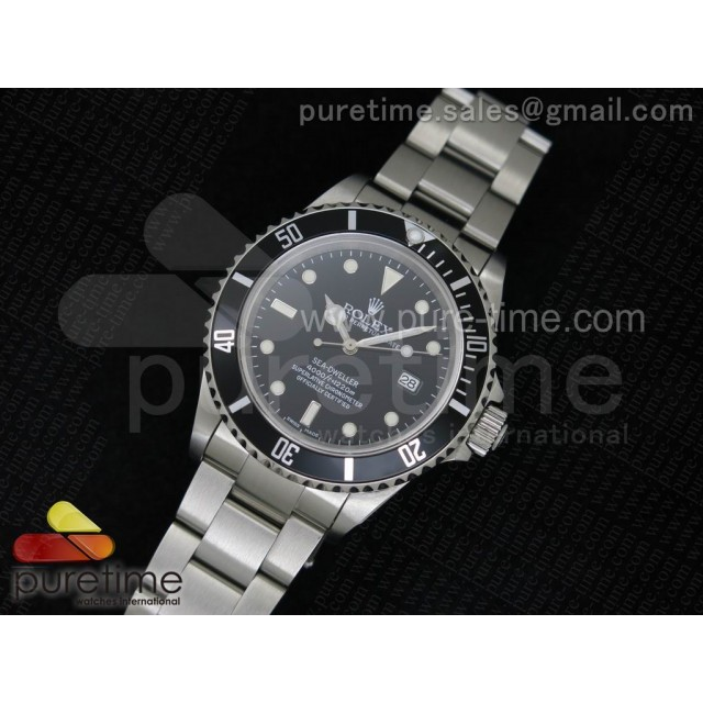 Cheap Discount Replica Sea-Dweller 16600 LF Best Edition on SS Bracelet SA3135