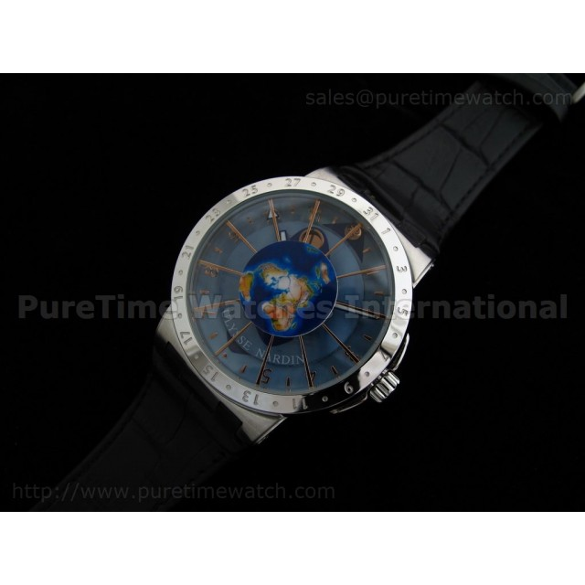 Cheap Discount Replica Moonstruck Watch SS Blue Dial