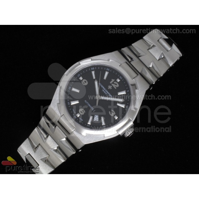 Cheap Discount Replica Overseas Automatic SS Black Dial on Bracelet