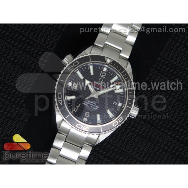 "Planet Ocean Professional Ceramic Bezel ""007 Limited Edition"" 42mm V6F on SS Bracelet A8507"