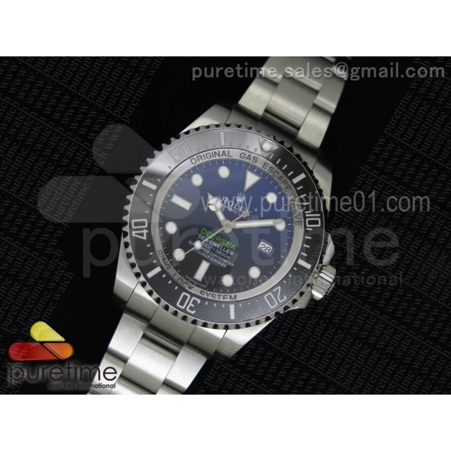 "Sea-Dweller DEEPSEA 116660 ""D-BLUE"" V7 1:1 Noob Best Edition SA3135"