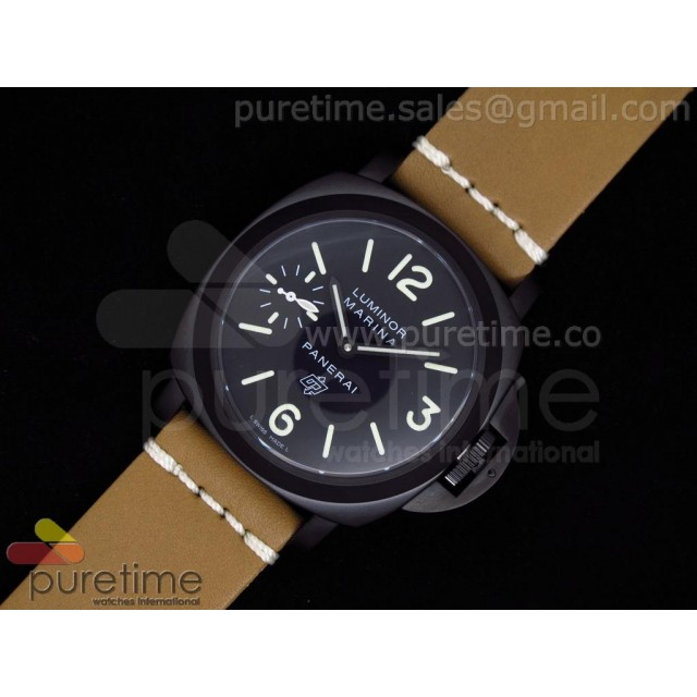 Cheap Discount Replica PAM195 SE A6497 on Tan Leather Strap