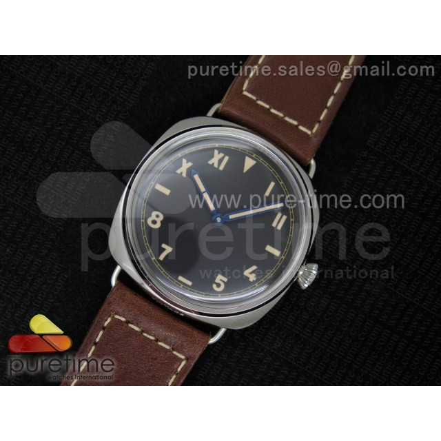 Cheap Discount Replica PAM448 O ZF 1:1 Best Edition on Thick Brown Leather Strap P.3000 Super Clone V2
